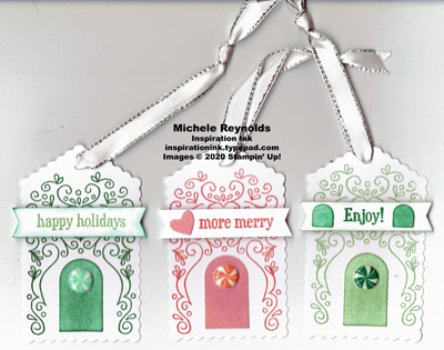 Paper pumpkin jolly gingerbread alternate simple tags watermark