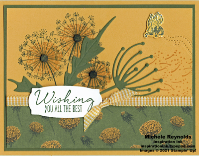 Dandelion garden best wishes watermark