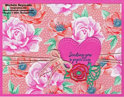 Comfort & hope roses paper hug watermark