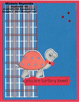Turtle friends dapper turtle watermark