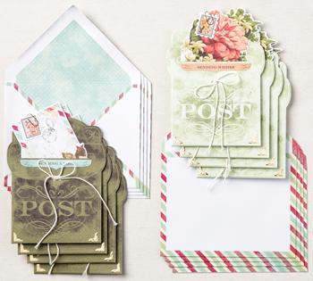 Precious parcel card kit