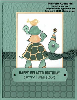 Turtle friends slow stacked turtles watermark
