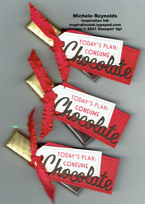 Nothing's better than consume chocolate tags watermark