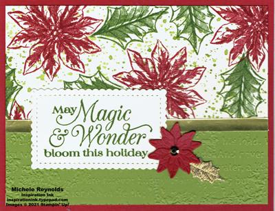 Poinsettia petals poinsettia magic watermark