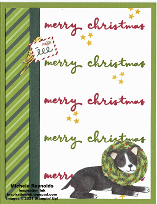 Christmas to remember holiday dog watermark