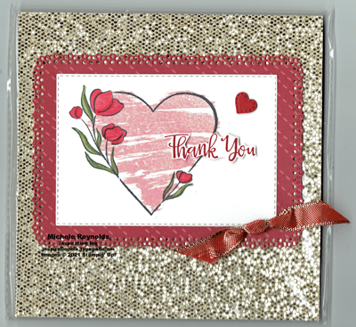 Strong of heart paper pack label watermark