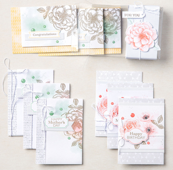Sentimental rose card kit
