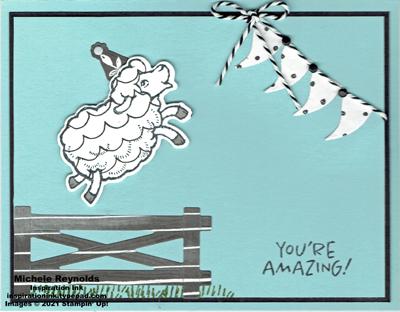 Counting sheep amazing jumping sheep watermark