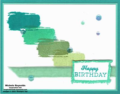 Textures & frames stepped blocks birthday watermark
